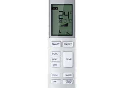 Afstandsbediening YR-HBS01 Haier afstandsbediening infrarood geschikt voor Jade, Dawn, Console, Compact Cassette en Round Way Cassette